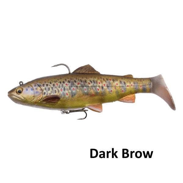 4D Rattle trout dark brown