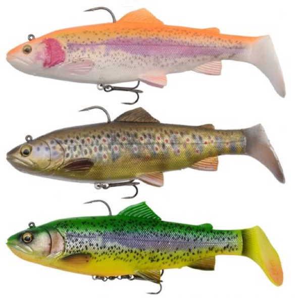 4D Rattle trout