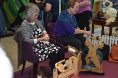 Kako and Sally Demonstrate how to spin