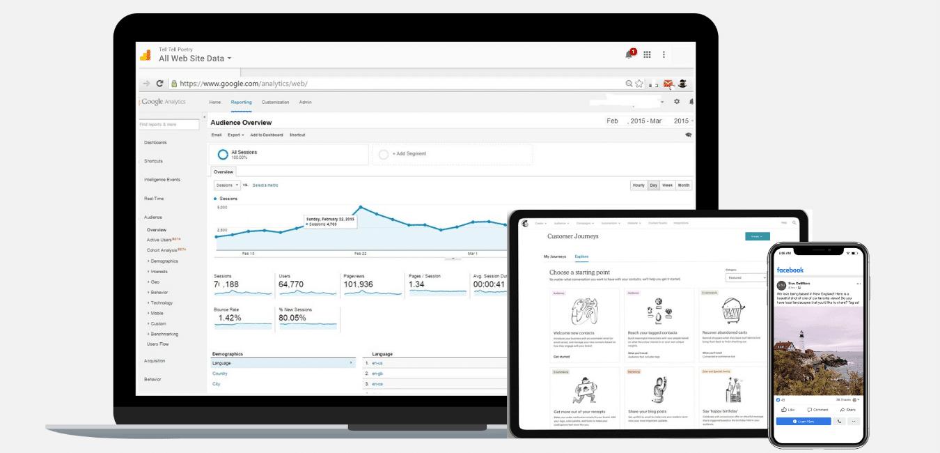 Digital Media Marketing screenshots