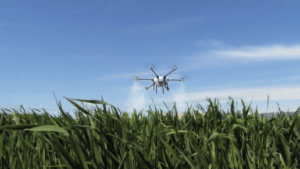 Efficacy of drone spraying study - M6E-1 CROP SPRAYING DRONE