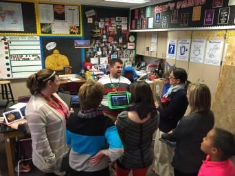 Teachers Visit Cross-District to Share Instructional Strategies