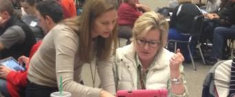 Teachers Learn New Skills Together