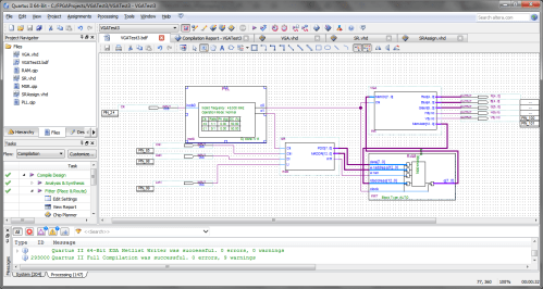 small resolution of block diagram file for the fpga vga controller
