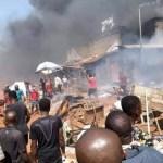Update: Woman, Baby Die In Onitsha Fire Outbreak