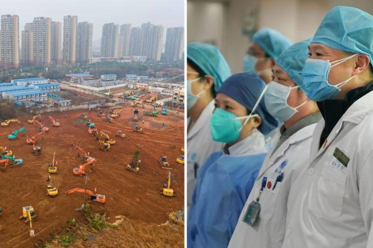 #coronoavirus: China To Build 1000-Bed Hopsital In Six Days