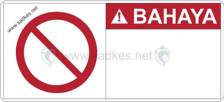 Sign Bahaya Contoh Rambu Rambu Bahaya Danger Sign