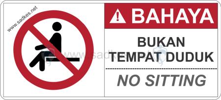 Sign Bukan Tempat Duduk