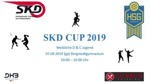 SKD-Cup der weiblichen C-Jugend