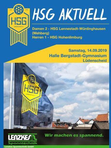 Die erste HSG Aktuell der Saison ist da!!