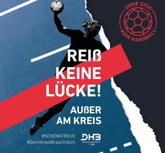 DHB Kampagne für Vereinstreue und Präsenz des Handballs