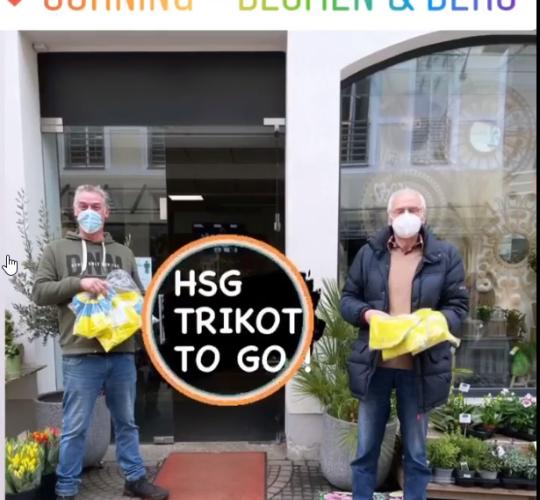 Sponsoren-Trikot liegt bei Blumen Jörning bereit