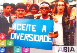 CARTÃO POSTAL - PROJETO JUVENTUDE E DIVERSIDADE SEXUAL - FRENTE - 2005