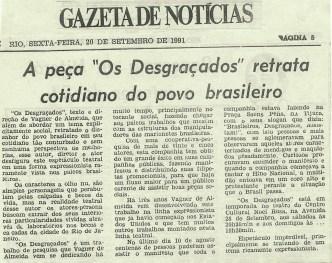GAZETA DE NOTICIAS - SETEMBRO DE 1991K