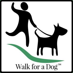 Walk for a Dog logo