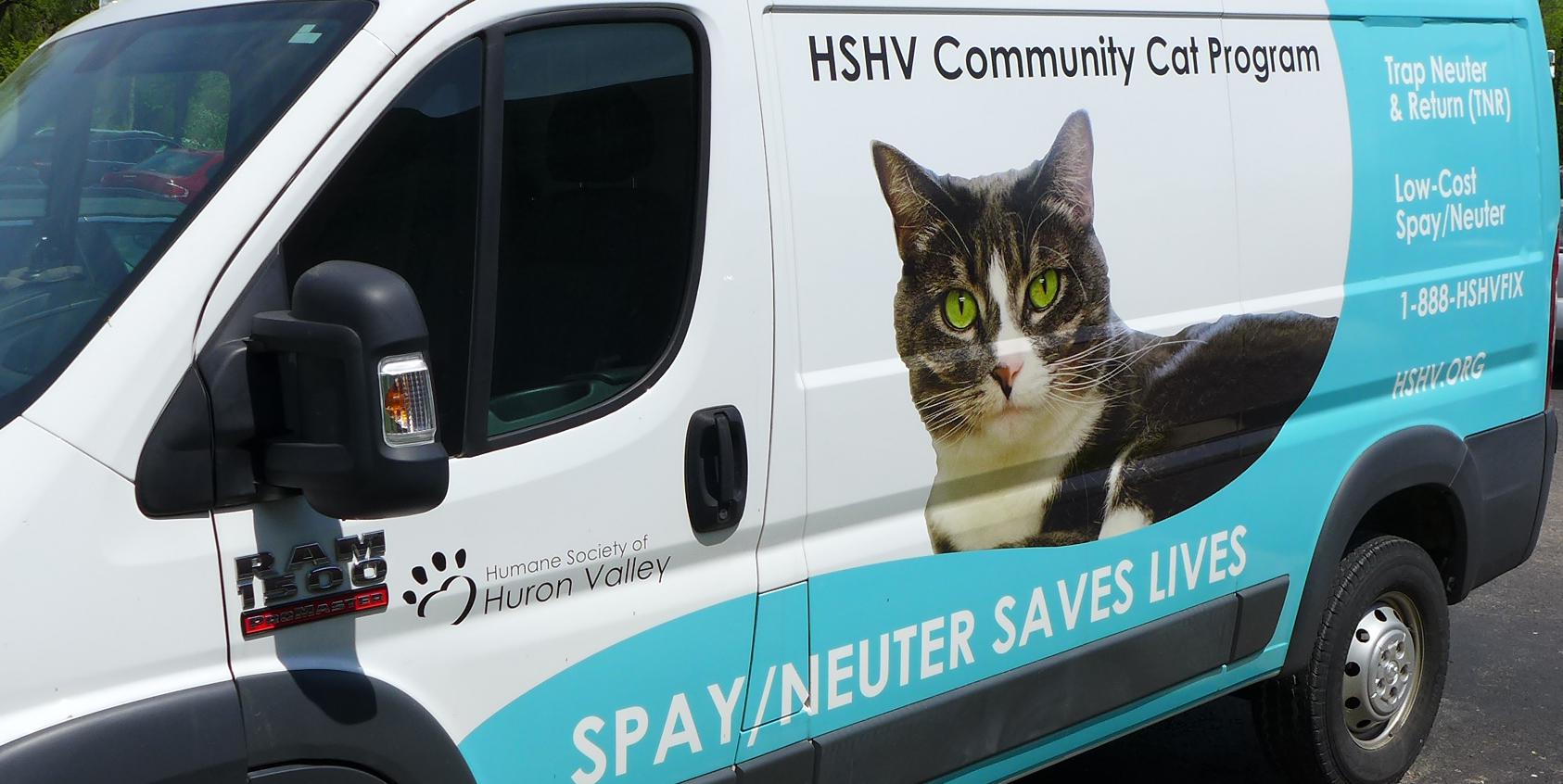 HSHV Community Cat Program van