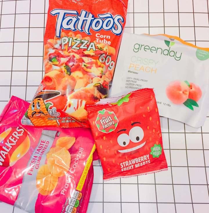 【英國】The fruit factory 草莓心型水果軟糖
