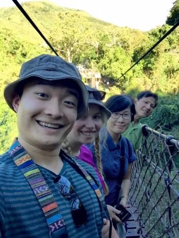 Taoyuan,Fuxing Township,Small Wulai drawbridge