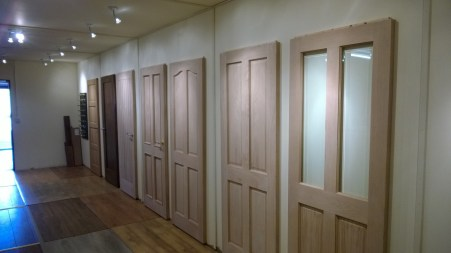 Doors showroom at HSJ.