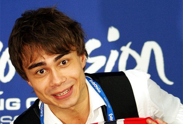 Alexander Rybak, vinner av den europeiske melodifestivalen 2009. Foto: Daniel Kruczynski/Wikipedia