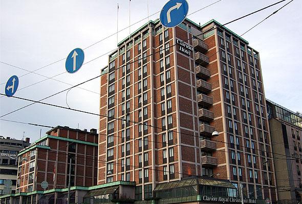 Clarion Hotel Royal Christiania. Fotograf: Bjørn Erik Pedersen/Wikimedia Commons