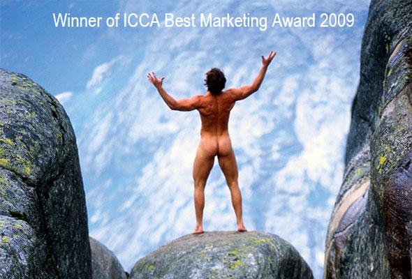 NBCs vinnerkampanje i ICCAs Best Marketing Award 2009