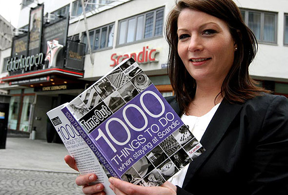 Kristine Schaug, Country Marketing Manager i Scandic Hotels