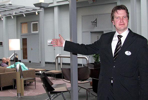 Sølve Prestegard, direktør for Quality Hotel Edvard Grieg (foto fra hotellet)
