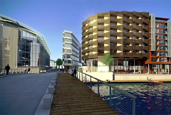 Nytt hotell på Tjuvholmen i Oslo