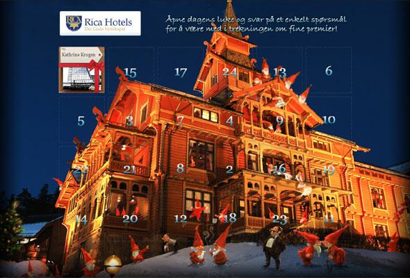 Rica Hotel's julekalender 2010