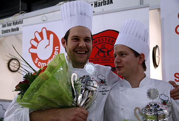 Raymond Grimstad og Christopher W. Davidsen fra Tango bar og kjøkken i Stavanger