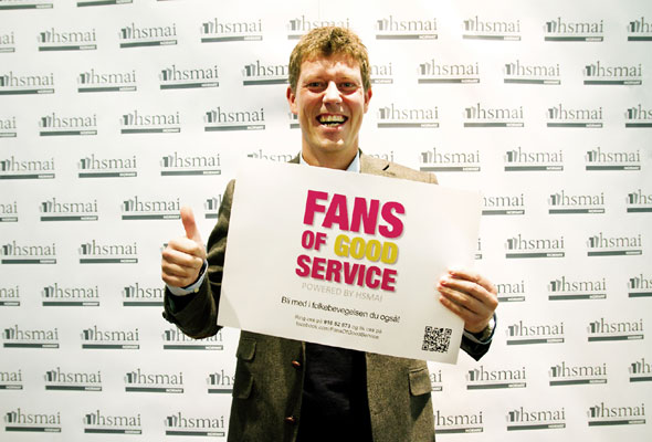 Jan Fredrik Karlsen. Fans of good service