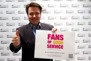Per-Arne Tuftin. Fans of good service