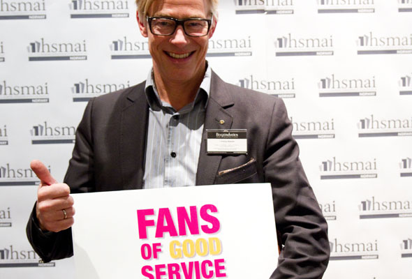 Ukjent med briller. Fans of good service