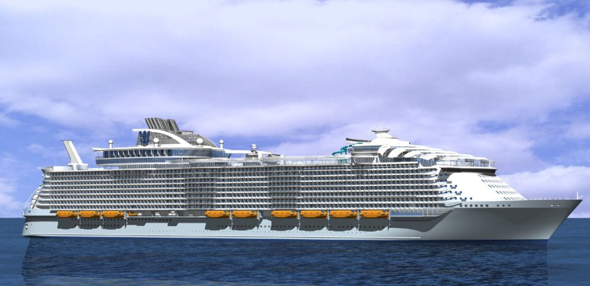 """Harmony of the Seas"". Foto fra RCCL"