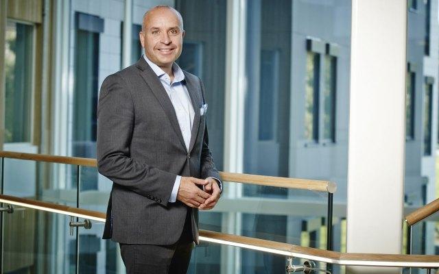 Ole Grønvold, administrerende direktør i Avis Norge. Fotograf: Eirik Førde