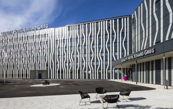 Quality Hotel Edvard Grieg i Bergen (foto fra Nordic Choice Hotels).