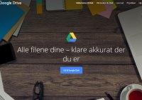 Ingunn Weekly: Google Drive