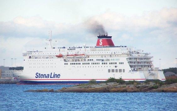 "Passasjerfergen ""Stena Baltica"". Fotograf: Henrik Sendelbach/Wikipedia"