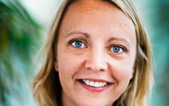 SAS' påtroppende kommunikasjonsdirektør Karin Nyman. Foto fra SAS.