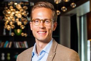 Tomi Meriläinen, General Manager, Radisson Blu Scandinavia Hotel i Oslo.