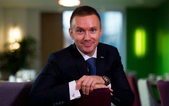 Torbjørn Marthinussen, Hotel Manager ved Park Inn by Radisson i Oslo.