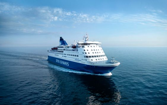 "MS ""Crown of Scandinavia"". Foto fra DFDS."