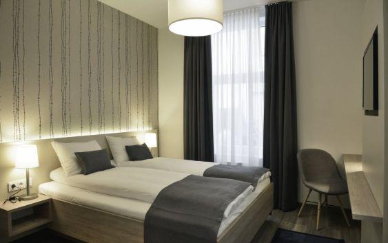 Et av Best Western Plus City Hotels dobbeltrom. Foto fra Best Westen Hotels & Resorts.