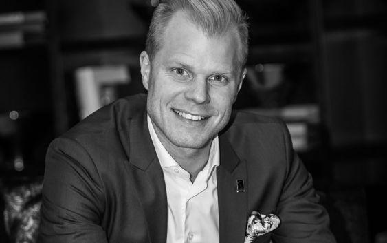 Christian Fredrik Sandberg, General Manager i Saga Hotels. Foto fra Saga Hotels.