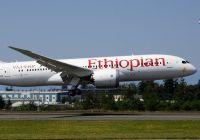 Ethiopian Airlines øker på Avinor Oslo lufthavn