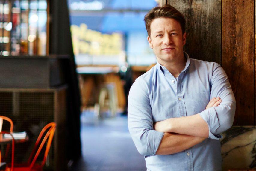 Jamie Oliver. Foto fra Jamie Oliver Restaurant Group.