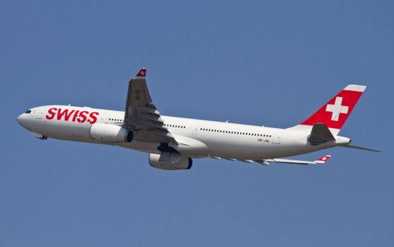 En Airbus A330 fra Swiss. Fotograf: Markus Guler/Swiss/flickr.