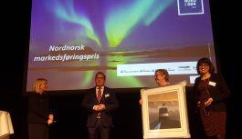 Hotelldirektør Erik Taraldsen og Thon Hotel Lofoten vant Nordnorsk markedsføringspris 2017