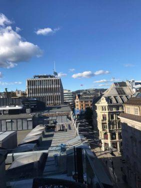 Fra HSMAIs sommerfest på Steen & Strøms Taket i Oslo sentrum, tirsdag 20. juni 2017.